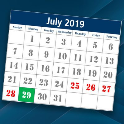 calendar of date that our banking system enhancement occurs