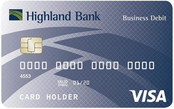 Atmdebit card highland bank simple to use at checkouts and atms while offering the kind of security and fraud protection you expect the highland bank visa debit card has you covered colourmoves
